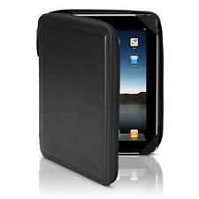 Case Sena ZipBook Leather  for iPad (Black)