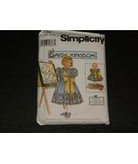 Sewing Pattern Simplicity 7768 Daisy Kingdom Ch... - $9.99