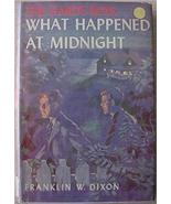 Hardy Boys Mystery # 10 WHAT HAPPENED AT MIDNIG... - $12.00