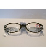 ICU Readers (Reading Glasses), Oval Swirl, Oliv... - $22.50