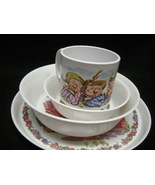 Childs 4pc Dinner Set.  Three Little Pigs By Oneida Ware. New. - $6.50