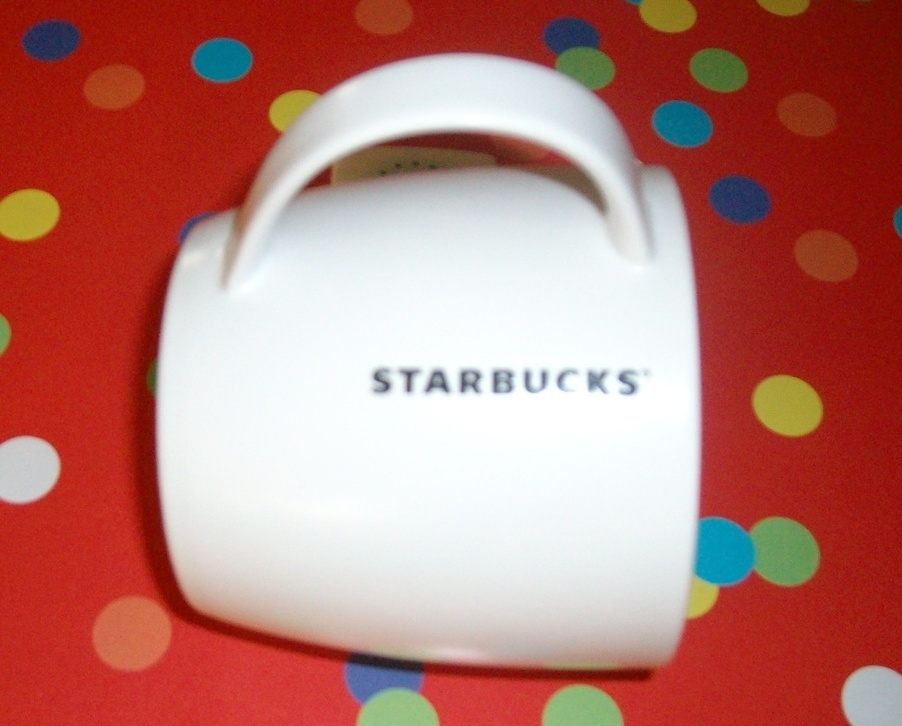 Starbucks White Coffee Mug Ceramic New