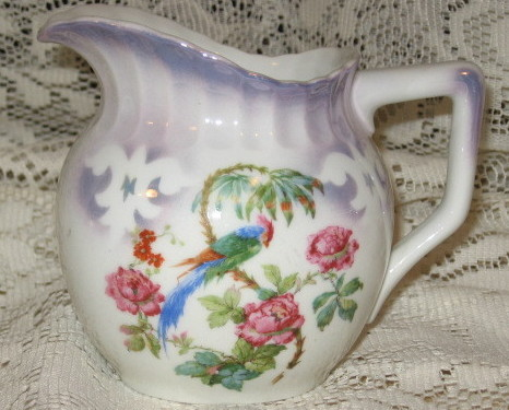 VTG Lusterware Creamer Pitcher    Leuchtenburg Germany