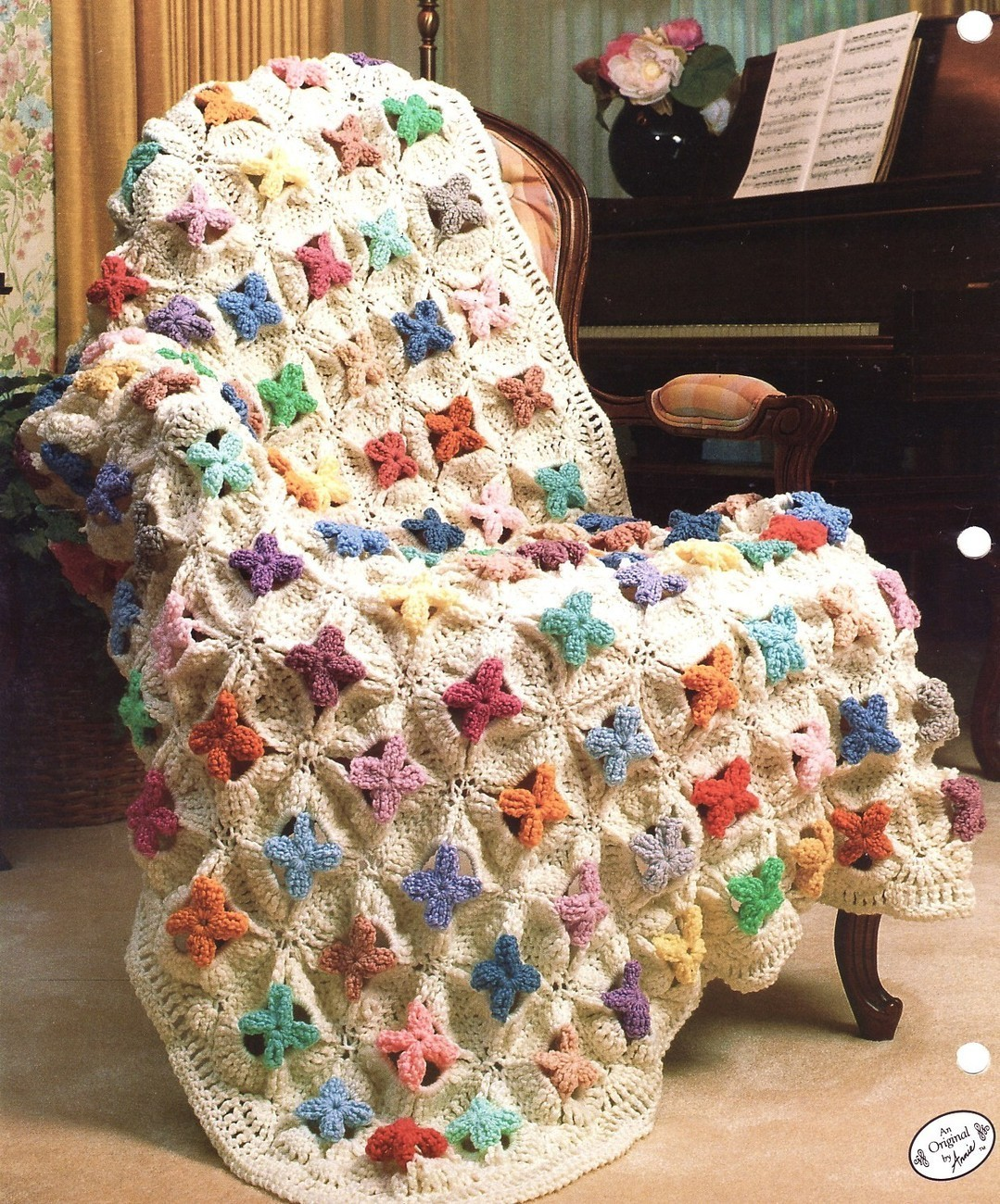 QUILT PATTERN AFGHANS CROCHET - Easy Crochet Patterns