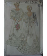 Pattern 6359 Victorian Style Wedding Dress multi sizes 8-18
