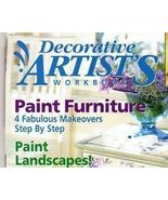Decorative Artist's Workbook~Aug 2002~LN - $2.00
