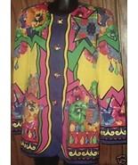 ESCADA by MARGARETHA LEY colorful Jacket Euro s... - $209.99