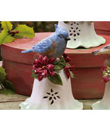 Ceramic Bird Bell Collectible Blue Bird New - $10.95