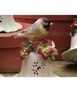 Ceramic Bird Bell Collectible Sparrow New - $10.95