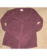 Converse Long John Maroon Long Sleeve Top XL - $2.99