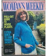 Woman's Weekly Magazine, October 2 1971 House Plants