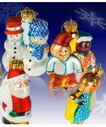 US Postal Service Hand Painted Glass Holiday Or... - $12.99