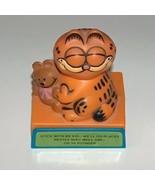 Vintage Garfield Animated Plastic Figure Stick ... - $9.00