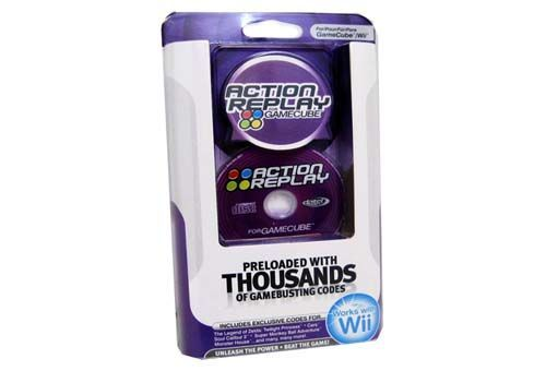New Action Reply Nintendo Gamecube Wii Cheats Codes
