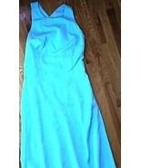 NWT $251 WOMENS JOANIE G. BLUE TOPAZ DRESS 6 BR... - $29.99