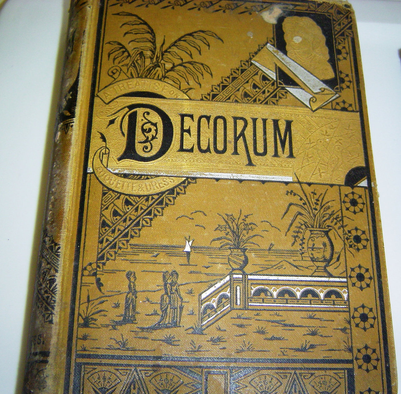 Antique 1800s Vinatage Etiquette Book Titled Decorum  Was 74.95 Now Only 54.95