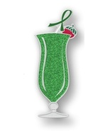 Leukemia Awareness Green Bling Ribbon Tropical ... - $10.97