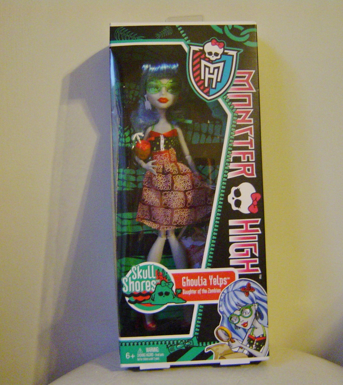 Monster High Skull Shores Ghoulia Yelps Doll