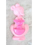 Charming Avon Pink Kangaroo Solid Perfume Brooc... - $14.95