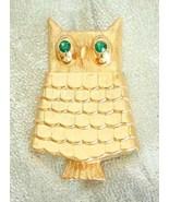 Elegant Avon Mid Century Modern Rhinestone Owl ... - $14.95