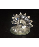 Crystal Peacock Swarovski Beveled Mirror - $9.99