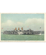 Steamer Washington Irving Hudson River Lines  P... - $6.00