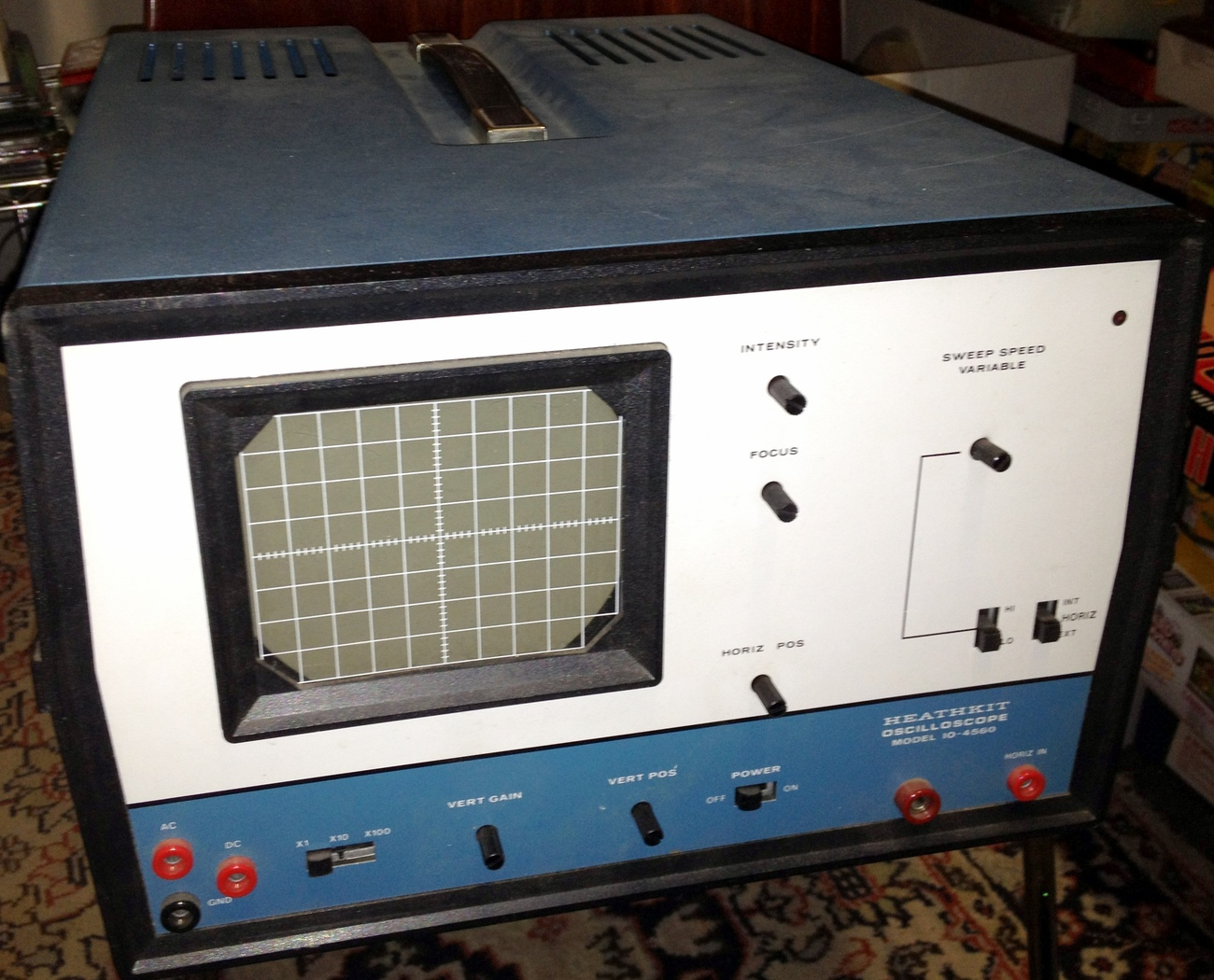 Heathkit Oscilloscope Model IO-4560