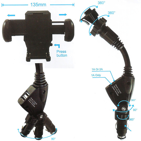 Rp-ca249_dual-usb-cigarette-lighter-car-phone-mount_600c