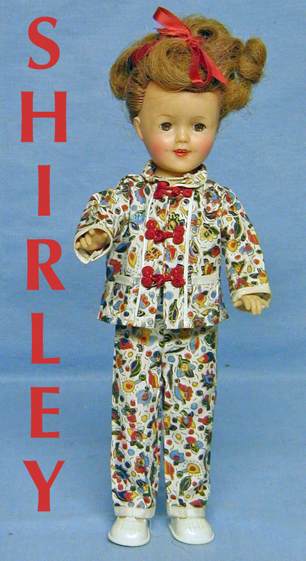Shirley Temple Ideal Doll 12""
