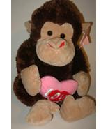Love Monkey Valentine's day Plush Stuffed Anima... - $23.50