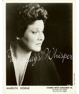 Marilyn HORNE Opera DAVIES Hall ORG Management ... - $9.99