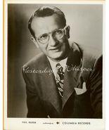 Paul WESTON Columbia RECORDS ORG 1953 Publicity... - $14.99