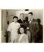 John GARFIELD Raymond MASSEY VINTAGE Warner Bro... - $9.99