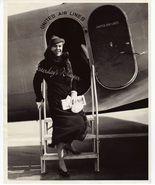 Ann SHAW Mrs. HERBERT Mundin UNITED Airlines OR... - $9.99