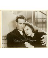 Jeffrey LYNN Geraldine FITZGERALD Vintage Movie... - $14.99