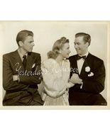 Ronald REAGAN Priscilla LANE Fur Vintage Movie ... - $14.99