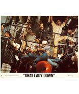 Charlton HESTON Gray LADY Down 4 Org LOBBY CARD... - $19.99