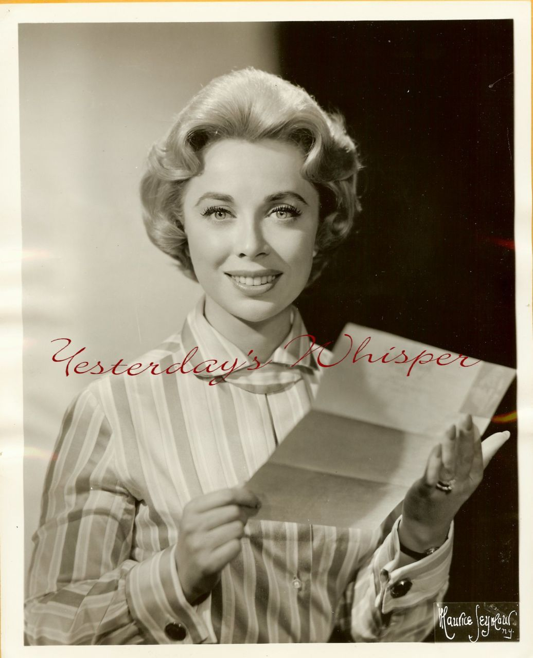 Consult Dr. JOYCE Brothers ORG TV SEYMOUR PHOTO H58