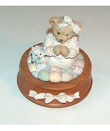 Cherished Teddies Musical Girl Praying with Her... - $18.00