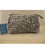Frankie & Johnnie Silver Sequin Handbag NWT - $8.00