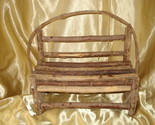 Buy RUSTIC TWIG BENCH--DOLL FURNITURE OR DISPLAY