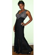 Amazing 60's Vintage Formal Evening Gown Dress ... - $49.00