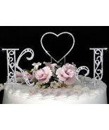 NEW! Crystal Roman Initial & Heart Wedding ... - $119.99