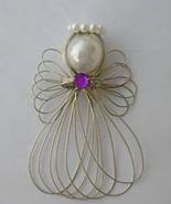 Birthstone Angel Ornament Handmade - $7.00