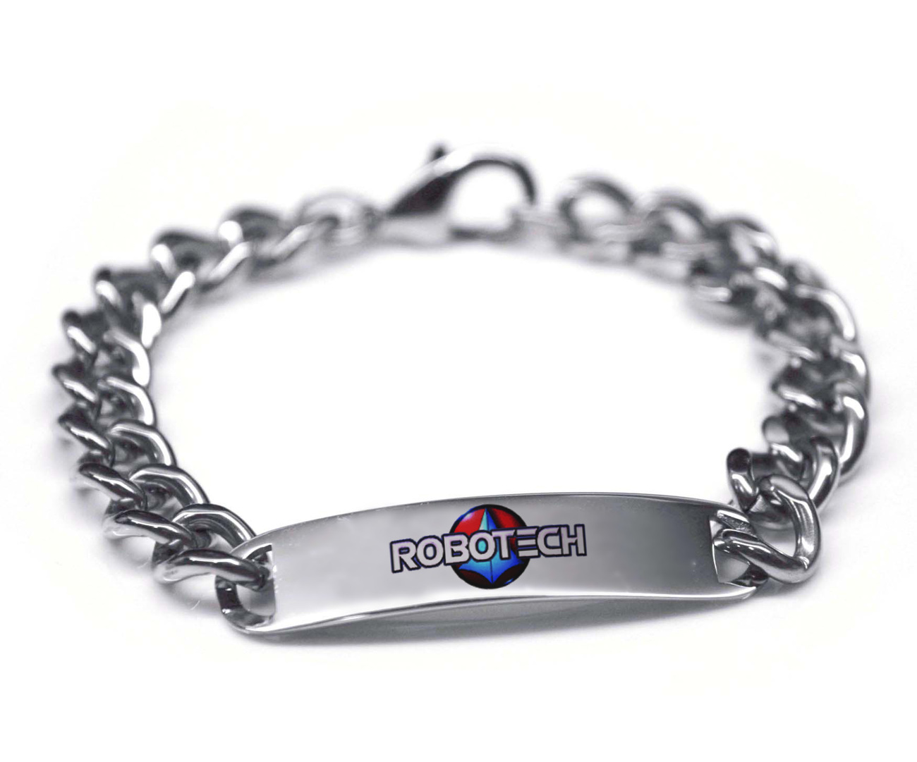 Robotech Macross Color Stainless Steel Bracelet