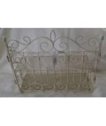 Garden Gate 2 Tier Shelf Ivory New - $20.00