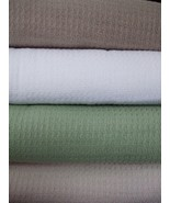 White Thermal Blanket Cotton Cal Oversized King 110x90 - $59.99