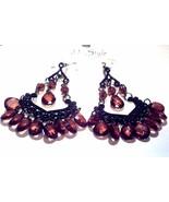Chandelier earrings brown - $2.10