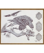 Limited Edition Native American Sketch Print by... - $49.97