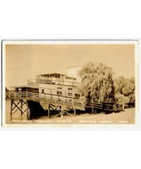 Vintage 1952 Real Photo Postcard - Showboat The... - $15.00
